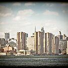 Vintage New York Skyline by Andrew Wilson