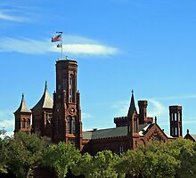 The Smithsonian Castle by Cora Wandel