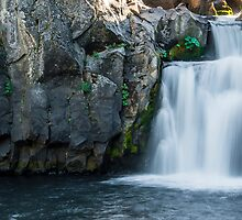 Middle McCloud Falls by RubenGarciaJr
