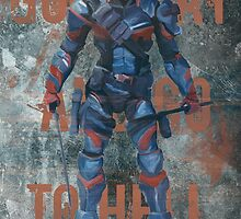 Deathstroke - Good Day And Go To Hell by hispurplegloves