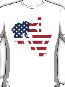 Sexy American Stripper Silhouette T-Shirt