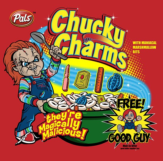 Chucky Charms by Mephias