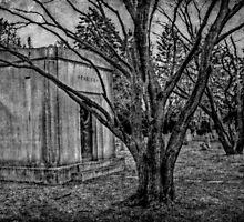 Parish Mausoleum, Pompton Plains Reformed Church Cemetery by Jane Neill-Hancock