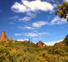 Warrumbungle Skyline by Michael Matthews