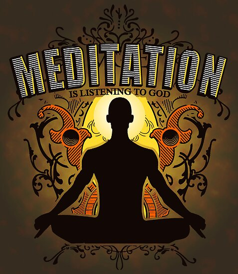 Meditation is LISTENING to GOD by ramanandr