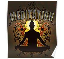 Meditation is LISTENING to GOD Poster