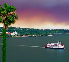 Fire Haze Over Sydney Harbour - Kirribilli- October 2013 by ShotsOfLove