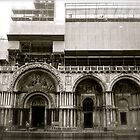 basilica san marco on a rainy sunday morning by kchamula