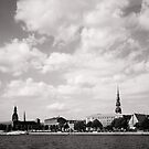 Riga city by Alex Volkoff