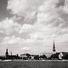 Riga city by Alex Volkoff