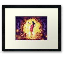 The Fire Witch  Framed Print