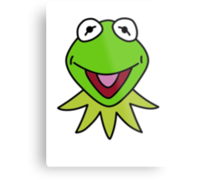 Kermit the Frog T-shirt The Muppets Metal Print