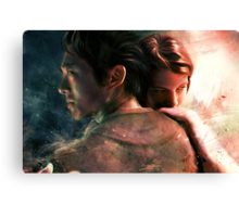 Live for Love/Fight for Live Canvas Print