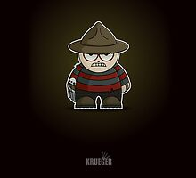 Mini Freddy Krueger by Adam Miconi
