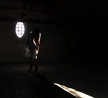 In the loft of the abandoned asylum by UpNorthPhoto