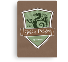 Green Dragon - Bywater Canvas Print