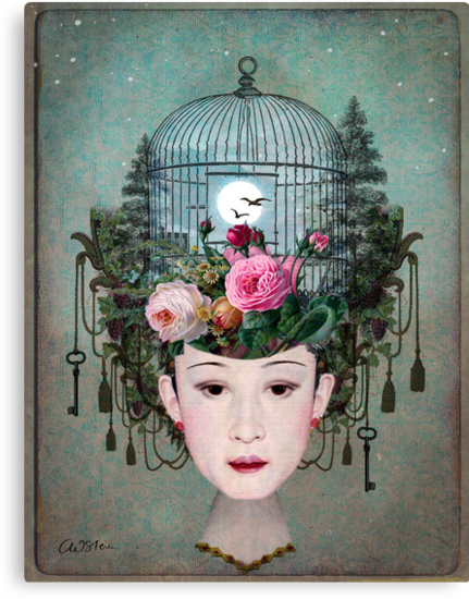 Moonlight Garden by Catrin Welz-Stein