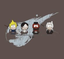 Final Fantasy VII - South Park by robotplunger