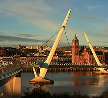 The Peace Bridge by Adrian McGlynn