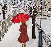 Paris Snow by Loretta Barra