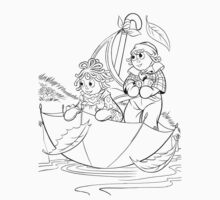 Raggedy Ann & Andy Go Sailing by redbot