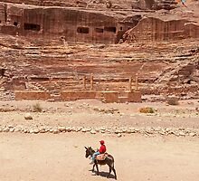 The Theatre Petra. by bulljup