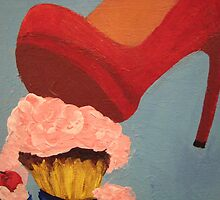 Pop Art - Cupcake Smash by Loretta Barra