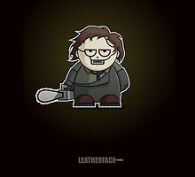 Mini Leatherface by Adam Miconi