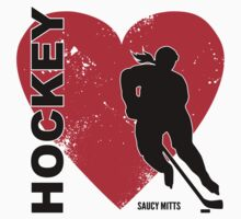 Love Hockey Heart by SaucyMitts