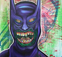 Zombie Batman by Laura Barbosa