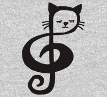 Treble-Clef Cat by MrPlatypus