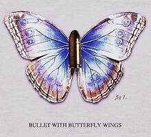 Bullet With Butterfly Wings by LaurenPerchard