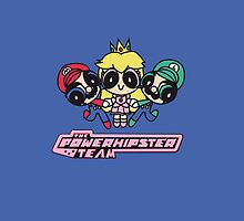 Team Mario in Powerpuff girls iPhone by EdWoody