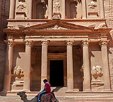 The Treasury2, Petra by bulljup