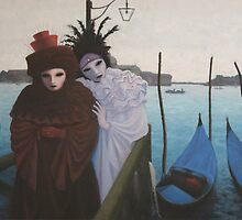 Carnival Girls Venice by Howard Sparks