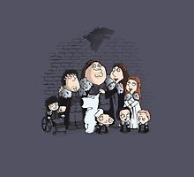Family Guy in Stark game of thrones iPhone by EdWoody