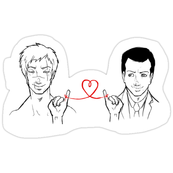 Moriarty and Moran - Red String of Fate by tobiejade