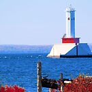 Mackinac Island Lighthouse by Jeri Garner
