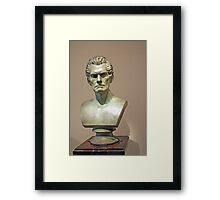 A John C. Calhoun Bust Framed Print