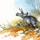 Triceratops by Himmapaan