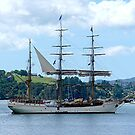 Europa at Opua, Bay of Islands,  New Zealand........! by Roy  Massicks
