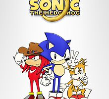 Sonic OVA-Style Trio by patrick womble