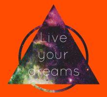 Live Your Dreams Kids Clothes