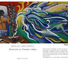 """""""Denpasar"""" in words & image (F.Vuillamy) by Eric Tchijakoff"""