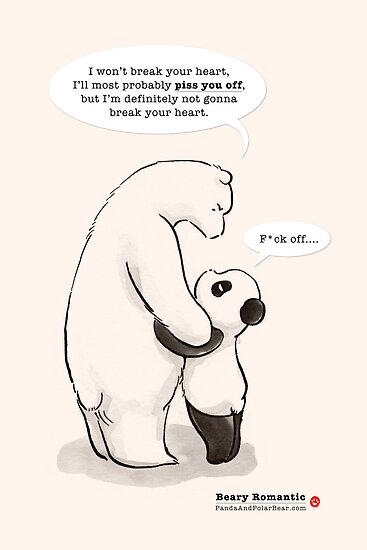 Beary Romantic by Panda And Polar Bear