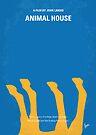 No230 My Animal House minimal movie poster by Chungkong