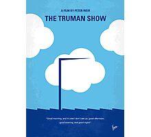 No234 My Truman show minimal movie poster Photographic Print