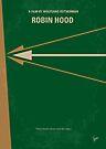 No237 My Robin Hood minimal movie poster by Chungkong
