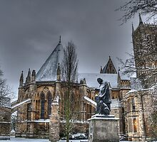 Tennyson and the Cathedral by Arron Hogg