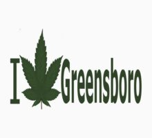 0149 I Love Greensboro by Ganjastan
